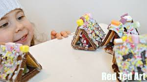 christmas crafts no bake gingerbread house youtube