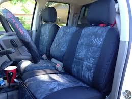dodge seat covers for trucks 2004 dodge ram 2500 kryptek typhon with black dura ez care trim