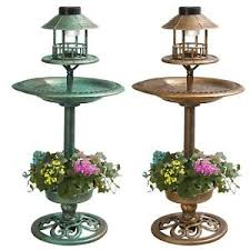 Bird Table L Ornamental Garden Bird Feeder Bath Hotel Feeding Table Station