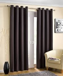 Eyelet Curtains Charcoal Grey Thermal Blockout Lined Eyelet Curtains Ready Made
