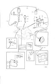 volvo penta exploded view schematic electrical equipment and