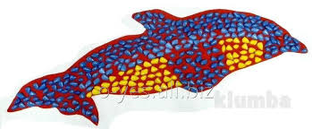 Rug Massage Rug Massage Orthopedic With Color Stones Of Delphine 100 X 40 Cm