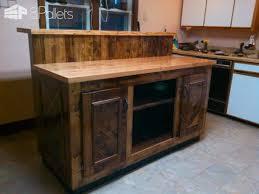 magnificent two tier pallet kitchen island u2022 1001 pallets