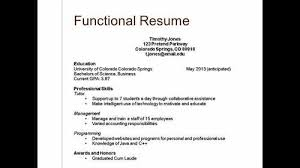 forms of resume types of resumes and their uses download types of resumes resume