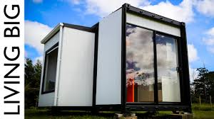 amazing 20ft shipping container home the pod tainer youtube