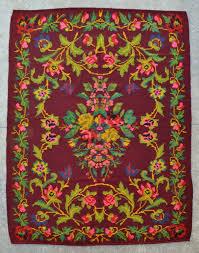 Persian Kilim Rugs by Vintage Moldavian Kilim Rug 4 U00278 X 6 U00270 142 X 183 Cm