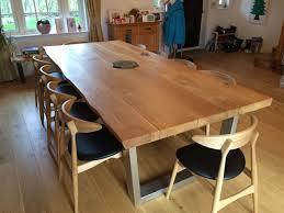 Z Shaped Desk Dining Table Oak Dining Table Gloucester Z Shaped Oak Dining