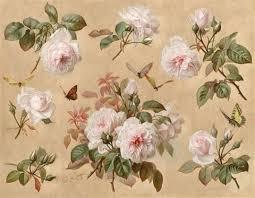 pink roses and butterflies by paul de longpre on artnet