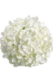 hydrangea white 6 white silk hydrangea balls hanging decorations wedding flowers