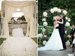 wedding arch no flowers wedding ceremony decor altars canopies arbors arches and