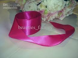 pink satin ribbon 2017 2 rolls 5 cm magenta hot pink satin ribbon gift wedding