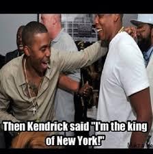 Jay Z Lips Meme - kendrick lamar king of new york memes begin to hit the internet