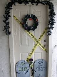 great halloween door decoration