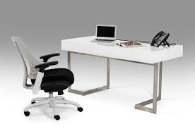 White Study Desks by Tables Sonoma White Study Desk Made Of Engineered Wood Modern