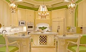 green kitchen design yellow and green kitchens wooden block breakfast bar black accent