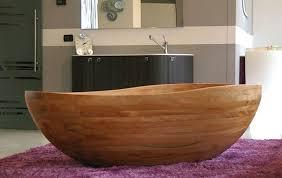 Wood Bathtubs Stone Vs Wood Bathtub Which One Is Better