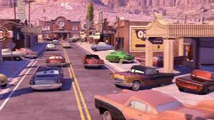 movie town our town from cars youtube