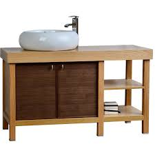Grey Wood Bathroom Vanity Wood Bathroom Vanities Bathroom Decoration