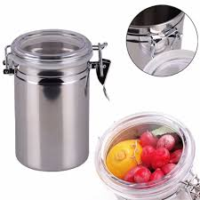 Stainless Steel Kitchen Canister Compare Prices On Coffee Storage Jar Online Shopping Buy Low