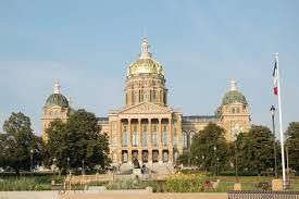 Iowa State Capitol by Freedom Of Information Iowa Newspaper Association