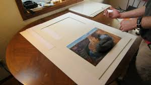 how to mat a print in an archival conservation safe manner youtube