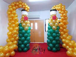 tall wine glass bottle balloon decoration singapore balloon