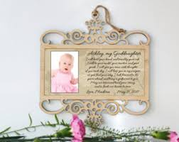 goddaughter ornament goddaughter baptism gift for baby girl dedication gift for