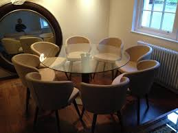 round pedestal dining table dining room contemporary with