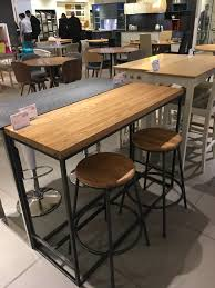 calia bar table from john lewis for kitchen bank cottage