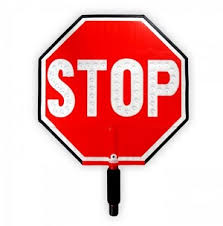 stop sign with led lights hand held stop sign with led lights paddle signs for sale