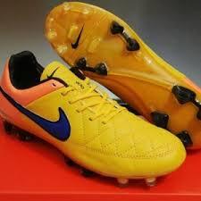 Sepatu Bola Grade Ori sepatu bola nike tiempo legend heat pack orange terbaru dan