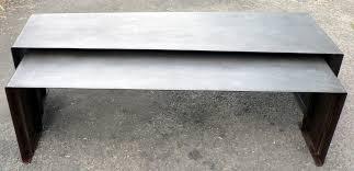 Table Basse Verre Roulette Industrielle by Table Basse En Verre Avec Roulettes Table Basse Double Plateau En