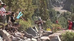bullet downhill trail rock garden section mammoth mountain