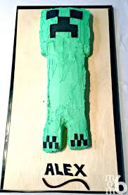easy homemade creeper cake momof6
