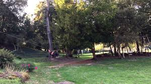 a zip wire made with a child u0027s imagination youtube