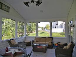 screened porch with white vinyl ceiling hnh screen rooms