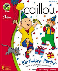 13 caillou birthday ideas images caillou