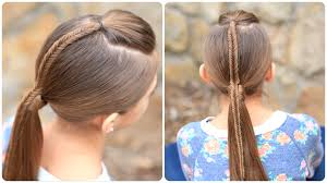 pakistani hairstyles in urdu fishtail accented ponytail hairstyles for sports medium hair