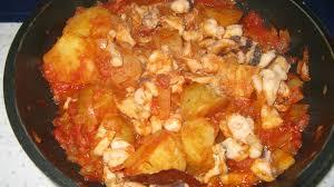 cuisiner le poulpe recettes poulpe à la portugaise a lagareiro les marmites de marphyl