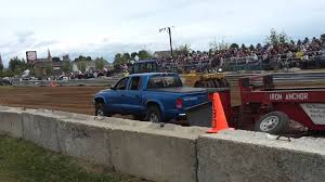 Dodge Dakota Truck Camper - dodge dakota 4 7 truck pull youtube