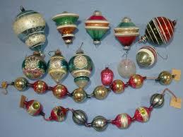 season handmade glass tree decorations on