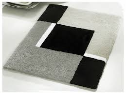 Bathroom Shower Curtain And Rug Set by Black And White Bathroom Rugs Sets Creative Rugs Decoration