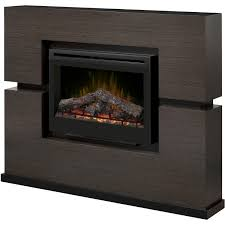 dimplex linwood 65 inch electric fireplace mantel inner glow