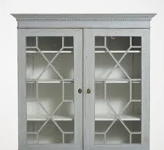 black glass door bookcase