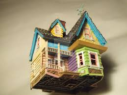 house models pixar disney u0027s up house model by mattsculpt on deviantart
