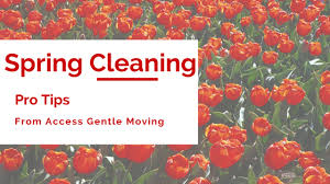 Spring Cleaning Tips Spring Cleaning Tips Access Gentle Moving
