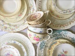 mismatched plates wedding mismatched wedding plates tea cups saucers mid south