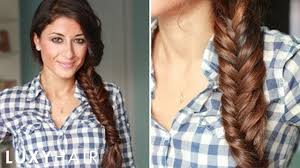 how to put bridal hairstyle how to everyday fishtail braid youtube