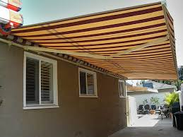 Shade Awnings Lateral Arm Retractable Awnings Made In The Shade Awnings