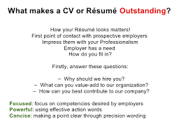Best Font For A Resume by Effective Cv Resume Writing